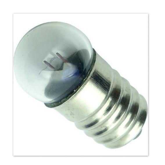 Lote Com 200 Mini Lampada Redonda Base E10 2.5 V , Lojas Atacadistas E Lojas Virtuais