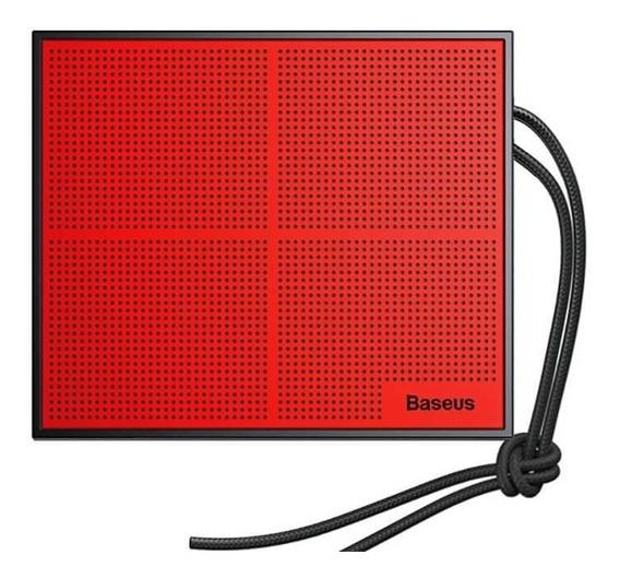 Caixa De Som Bluetooth Baseus Encok E05 Preto / Vermelho
