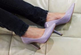2cd1cc32bb Scarpin Lilás Salto Alto Lilás Feminino - Sapatos no Mercado Livre ...