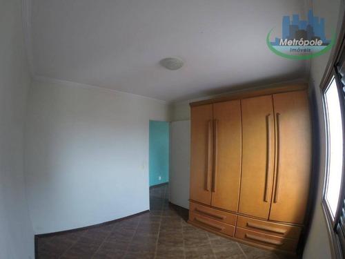 Apartamento À Venda, 56 M² Por R$ 280.000,00 - Vila Moreira - Guarulhos/sp - Ap1094