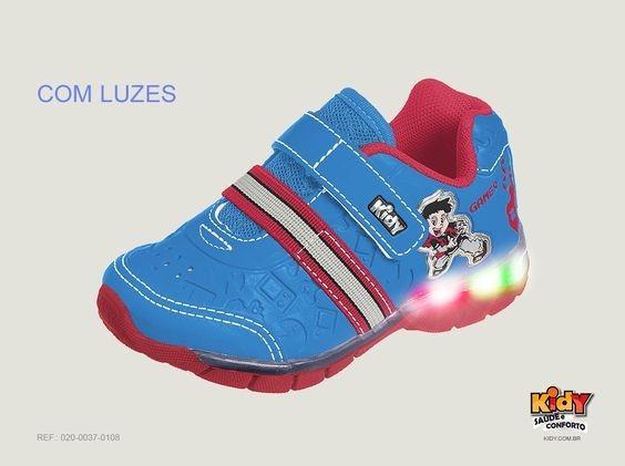 Tenis Infantil Kidy Flex Light Pisca Ao Caminhar 0200037