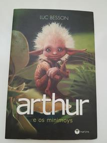 Livro Arthur E Os Minimoys Luc Besson