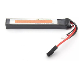 Bateria Slim Lipo Airsoft Xf Power 1200mah 2s 30c 7.4v