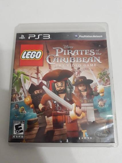 Lego Piratas Do Caribe Ps3 Mídia Física