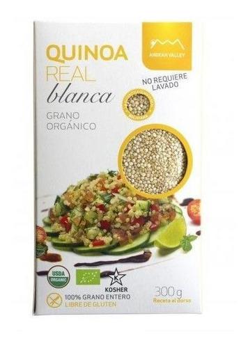 Grano De Quinoa Real Blanco X 300 Grs - Andean Valley