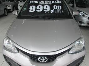 Toyota Etios 1.3 Completo Zero De Entrada+ 60 X 999,00 Fixas