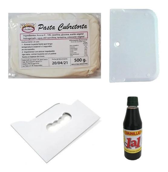 Set De Pasteleria - 2 Pastas + Scrapper + Cornet + Esencia