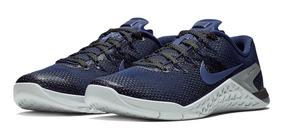 Tênis Nike Metcon 4 Crossfit Metallic Blue Graphic 3d