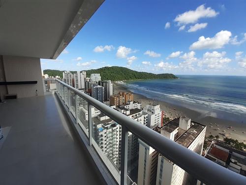 Imagem 1 de 14 de Apto Alto Padrão No Forte Praia Grande