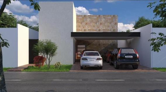 Casa Súper Equipada En Preventa En Mérida, Privada Arborea Conkal Lote 41