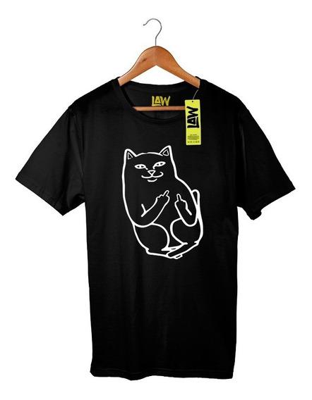 Remera Gato Troll Dedo - Luisito Comunica - 100% Algodón