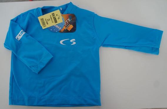 Kit 12 Camisas Infantil E Rn Com Proteção Solar Uv Fpu 50+