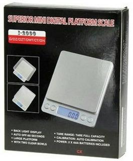 Balanza Digital Gramera Peso Oro 500gr Alta Precision Acero