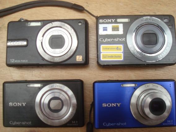 Câmeras Digitais 5 Unidades Para Retirada De Peças