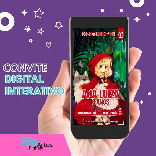 Imagem 1 de 5 de Convite Digital Interativo