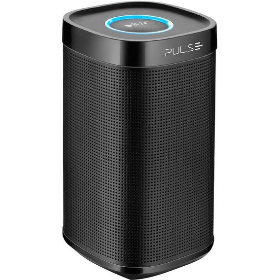 Caixa De Som Bluetooth Preta Sp204 Pulse