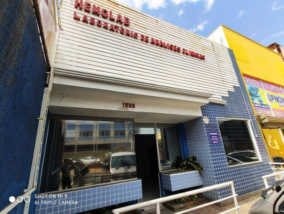 Casa Comercial Na Avenida Barão De Itapura Para Alugar, 300 M² Por R$ 6.000/mês - Jardim Guanabara - Campinas/sp - Ca0549