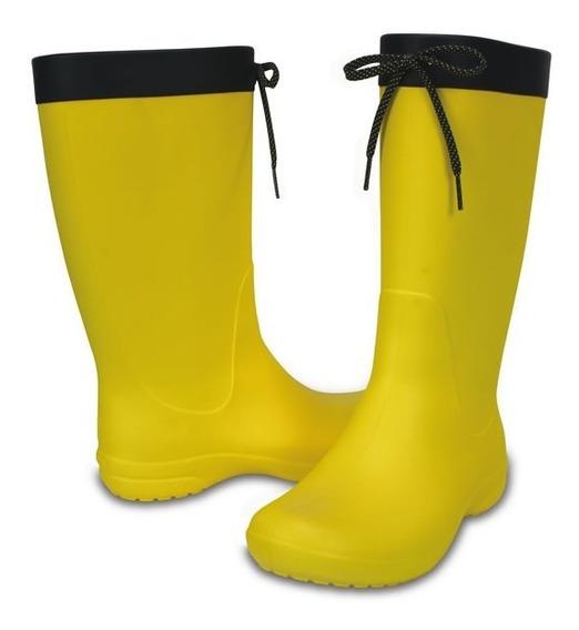 Crocs Freesail Rain Boot -lemon-