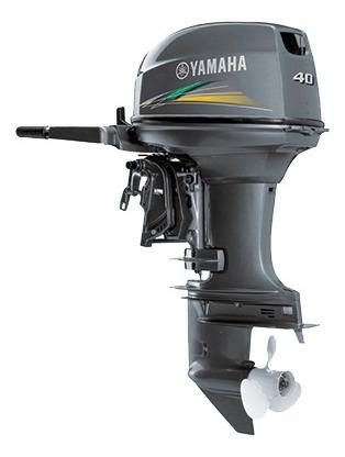 Motor De Popa Yamaha 40 Hp Okm Miami Nautica 12 X Cartao