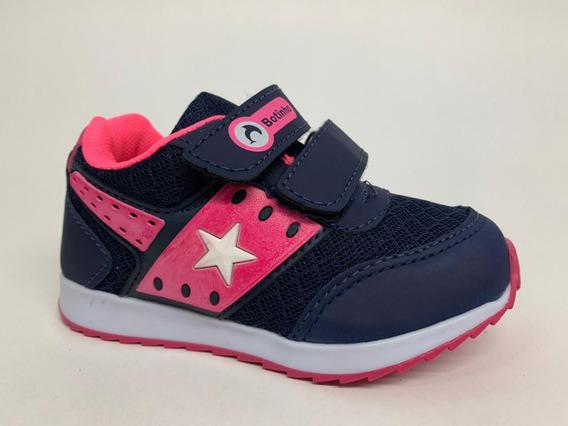 Tênis Bebê Esportivo Fechamento Velcro Anti Derrapante 779ma
