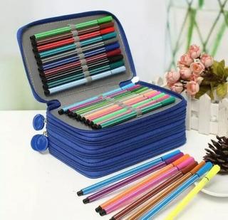Lapicera 72 Agujeros Organizador Lapices Colores