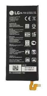 Bateria Lg Q6 Prime M700 Bl-t33 Blt33 3000mah Pila Nueva