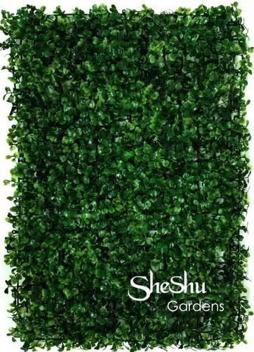 Imagen 1 de 6 de Jardin Vertical Artificial Panel Cesped La Mejor Calidad!!!