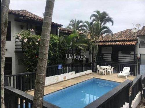 Casa Em Condomínio Fechado C/ 2 Pavimentos, 2 Piscinas E Sauna - Ca1090
