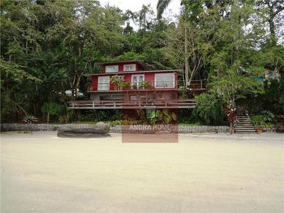 Casa Residencial Para Locação, Retiro Com Praia, Pies E Rampa, Angra Dos Reis. - Ca0041