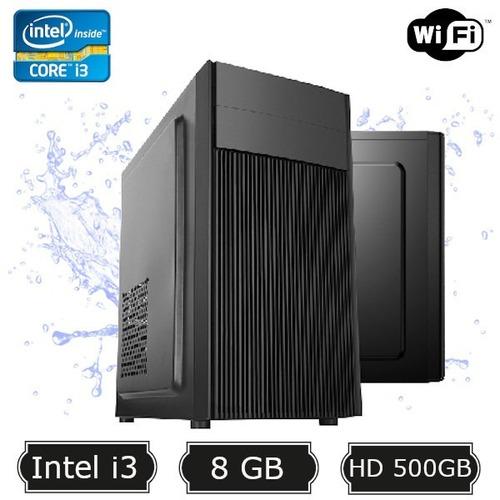 Computador Desktop I3 2100 8gb Hd 500gb Wifi Hdmi Sata