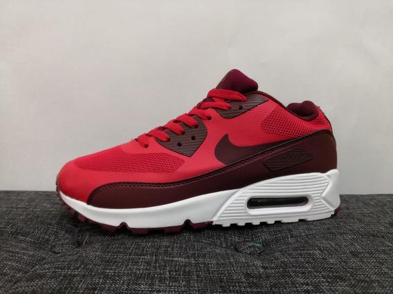 Zapatos NIKE Air Max 90 Essential AJ1285 601 University Red
