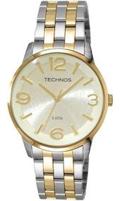 Relógio Technos Feminino Fashion Trend 2035aan/5x Prata