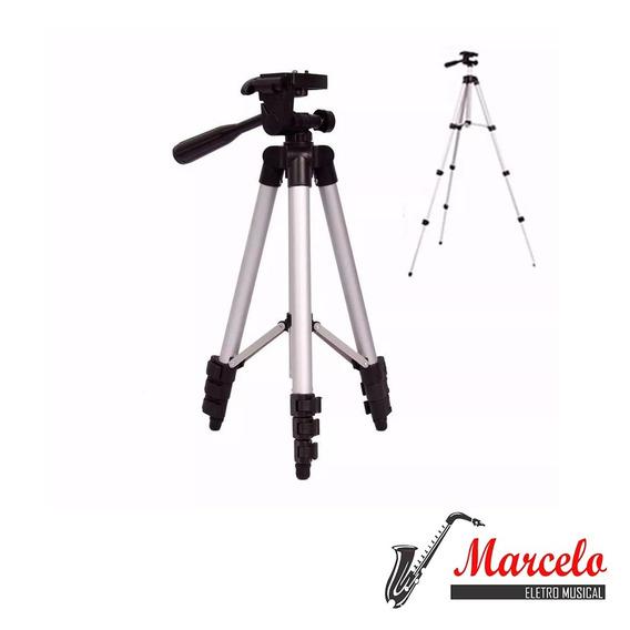Tripé Câmera Universal Profissional 1,2mt
