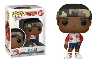 Funko Pop Lucas #807 Stranger Things 3 Jugueterialeon