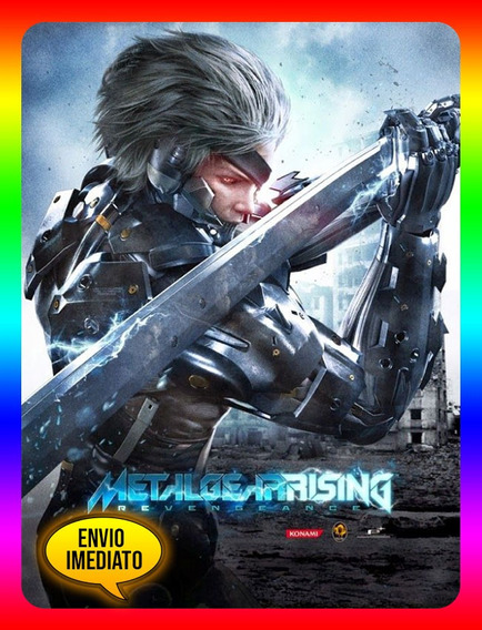 Metal Gear Rising Revengeance Pc - Steam Key (envio Já)
