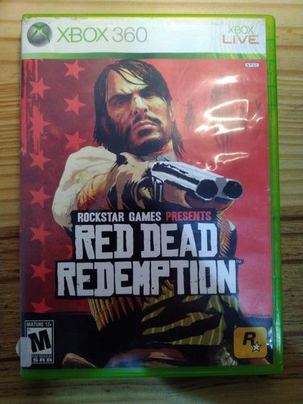 Jogo Red Dead Redemption P/ Xbox 360 + Minecraft De Brinde