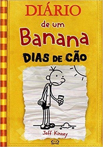 Dias De Cão Livro Capa Dura Diário De Um Banana 4 Frete 14