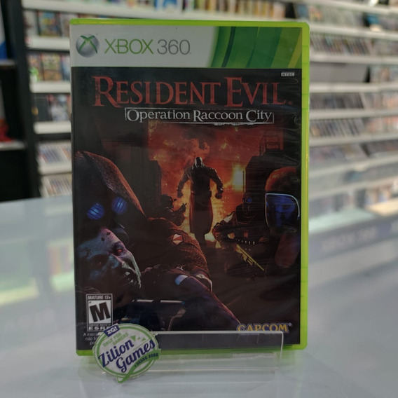 Resident Evil Operation Raccon City Xbox 360 - Completo