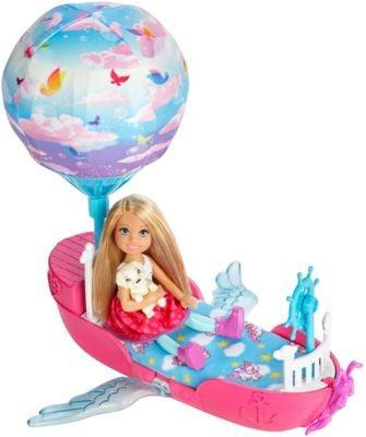 Barbie Chelsea Com Barco Balão - Mattel Dwp59