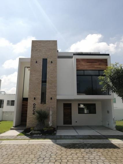 Residencia En Lomas De Angelópolis - Parque Nuevo León