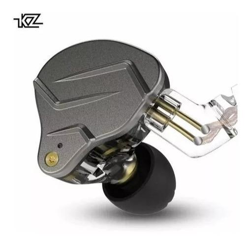 Kz Zsn Pro Dual Drive Híbrida 1ba + 1dd Graves Retorno Palco