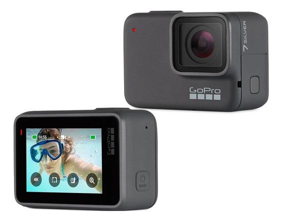 Câmera Digital Gopro Hero 7 Silver 10mp + Nota Fiscal 4k