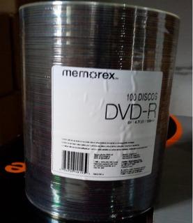 Dvd Virgen Memorex Estampado X 100 - Envio A Todo El Pais