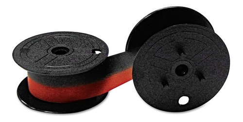 Cinta Calculadora Rojo Y Negro P/casio Districomp