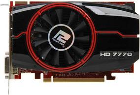 Placa De Video Radeon Hd7770 1gb Powercolor Gddr5 128 Bits