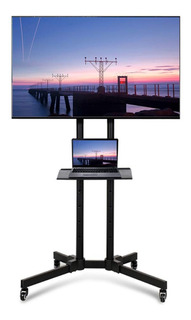 Soporte Pie Tv Led 40 42 49 50 55 60 Stf901 Ruedas Exhibidor