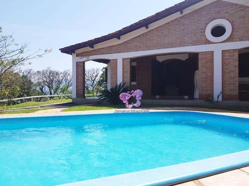 Chácara Com 2 Dormitórios À Venda, 32000 M² Por R$ 1.000.000,00 - Santa Ella - Araçariguama/sp - Ch0098