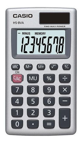 Paquete De 10 Calculadoras Portátil Casio Hs-8va