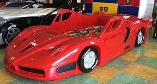 Cama Carro Niño Niña Ferrari Varios Colores