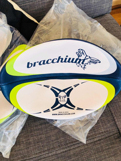 Balón De Rugby Profesional #5 Pelota Rugby Somos Smartec